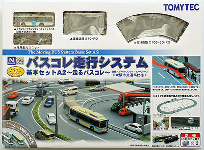 Tomytec Moving Bus System Basic Set A2  1/150 N scale