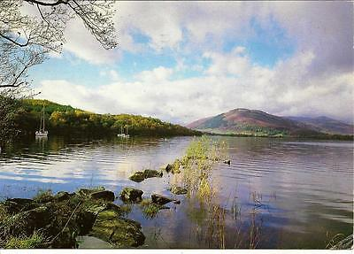 Loch Tay, Ben More & Stobinian- Posted Postcard. 1979