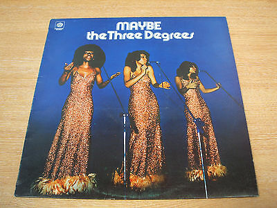 the three degrees  maybe 1974 uk pye label  issue vinyl lp   excellent soul