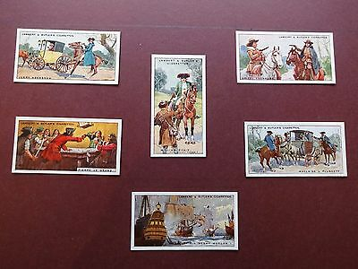 Pirates & Highwaymen Issued 1926 By L & Butler Set 25