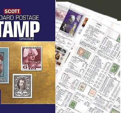 Rhodesia 2017 Scott Catalogue Pages 1059-1064