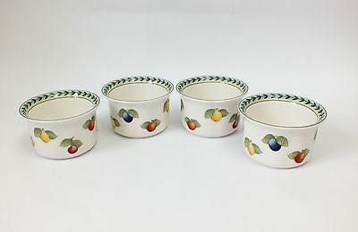 4 Villeroy & Boch French Garden  Ramekin Dishes