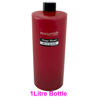 Stage Blood, 1Litre Bottle, (Halloween & Zombie Walk Products)