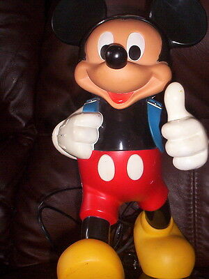 TYCO Vintage 1970's Mickey Mouse Telephone