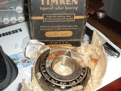 Timken Bearing 26118 S  26283 New old Stock