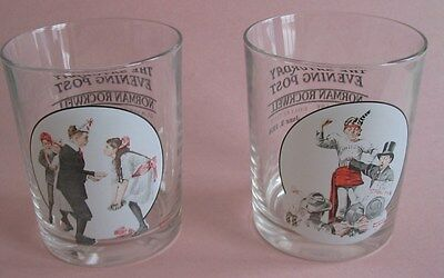 Norman Rockwell Glasses Circus Strongman & Pardon Me  **NEW**