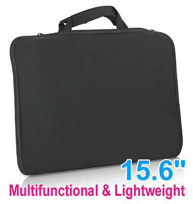 "UK 15.6"" Stylish Laptop Sleeve Bag Case Cover For HP DELL Toshiba Mac Sony Acer"