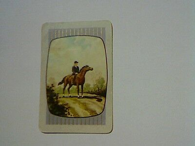 "1 Single Swap/Playing Card - Coles Unamed Series - ""Horses"""