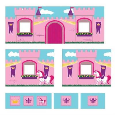 Openbox Dorel Home Products Curtain Set For Junior Loft Bed Princess Castle Dhp