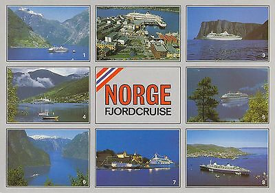 Post Card - Norge / Fjordcruise