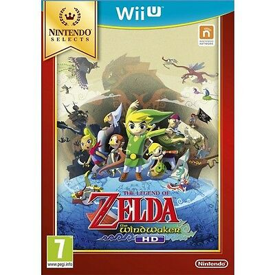 The Legend of Zelda: Wind Waker HD Selects (Wii U) NEW SEALED
