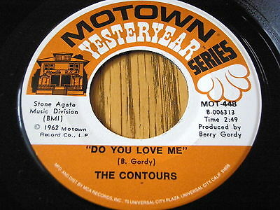 """The Contours - Do You Love Me / Shake Sherrie   7"""" Vinyl Unplayed"""