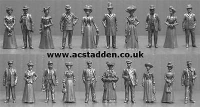 A C Stadden OO Gauge 1/76 Scale Pewter Figures