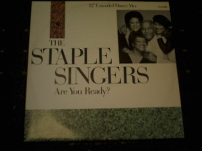 "The Staple Singers-Are You Ready-Extended Dance Mix 12"" Single"