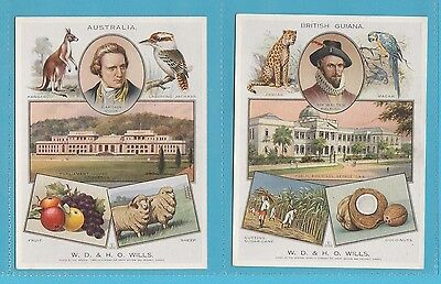 W. D. & H. O. Wills  - Very Rare Set Of P 12 The British Empire Cards  -  1929
