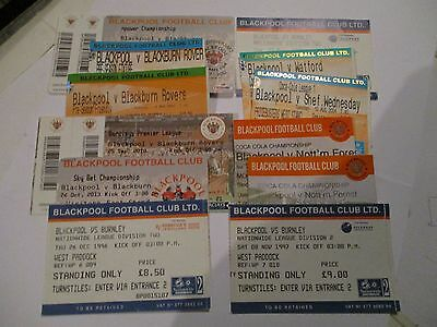 Tickets Blackpool Homes X 12.