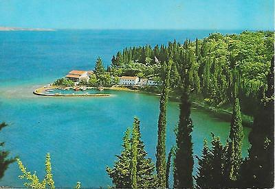 Corfu - Couloura Harbour - Posted Postcard