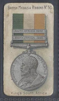 Taddy - British Medals & Ribbons - #50 King's South Africa