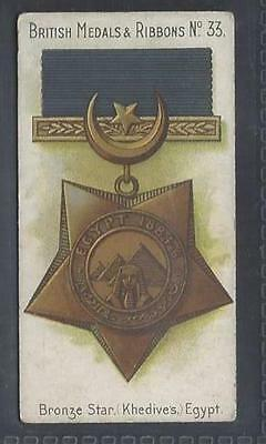 Taddy - British Medals & Ribbons - #33 Bronze Star, Khedives, Egypt