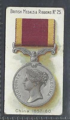 Taddy - British Medals & Ribbons - #25 China, 1957-60