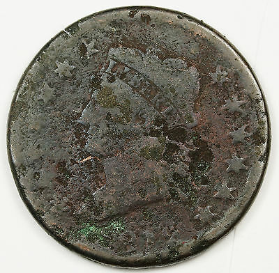 1812 Large Cent.  Circulated.  96472