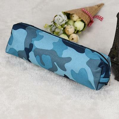 Personalized Camouflage Pencil Case Pen Bag Pouch Cosmetic Makeup Bag Stationery