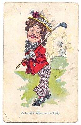 A Freckled Minx on The Links,publisher unknown (G)