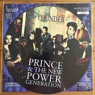 "Prince - Thunder  12"" Picture Disc Vinyl"