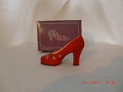 The Leonardo Collection If The Shoe Fits  RED with dimond stones No LP8861