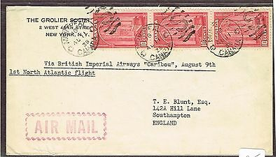 Canada Airmail Ffc England   (Ct7