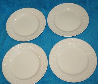 4 X Bhs Lincoln 10 Inch Dinner Plates