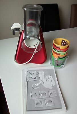 Tefal electric grater fresh express 5 sizes with instructions excelent condition