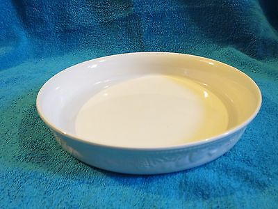 1 X  Bhs Lincoln Large 10 Inch Round Pie / Flan Dish