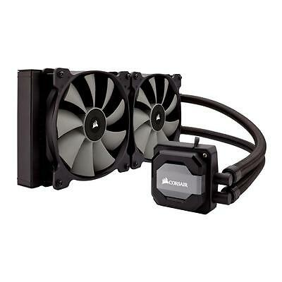 Corsair H110i AIO Hydro/Water Intel/AMD LED CPU Cooler 280mm Radiator
