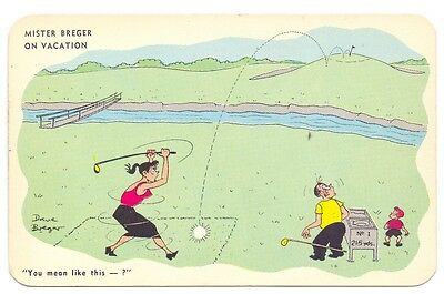 Miss Breger on Vacation,North Broadalbin,publisher Art Pictures Inc  (G)