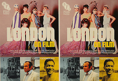 2 X London On Film Postcards - Blow Up - The Elephant Will Never Forget