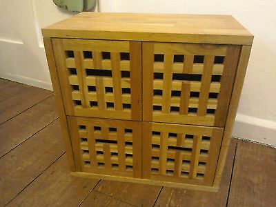 Solid Heavy Oak? Wooden Chest of Drawers Crafts?