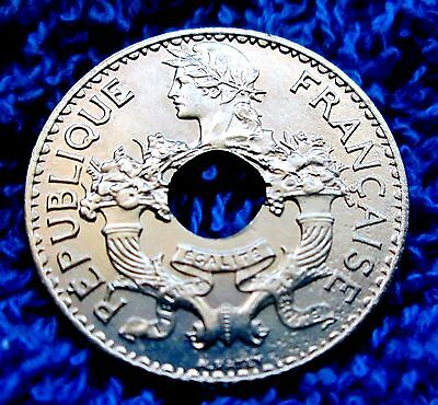 French Indo-China 5 Cents  Au Condion  A13-681