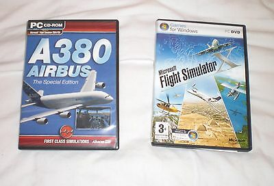 PC  Airbus A380 Special Edition  and Microsoft Flight Simulator (2 items)