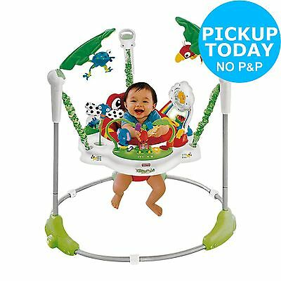 Fisher-price Rainforest Jumperoo Baby Bouncer -From the Argos Shop on ebay