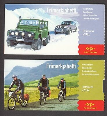 EUROPA CEPT Island 2004 MH booklets postfr./** (MNH)