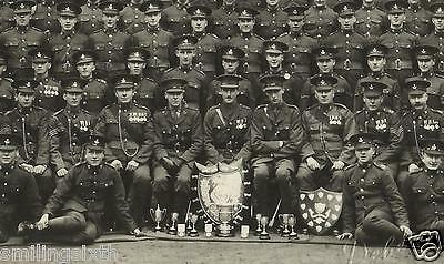 Group of Durham Light Infantry group with officers & trophies & MM Winner