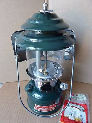Coleman 286 Lantern - made in USA '90 - with reflector, fully tested - Nice!