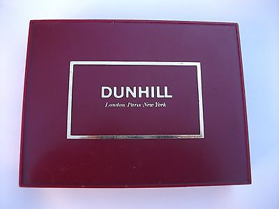 Vintage Dunhill Playing Cards Twin Sealed Decks In Box