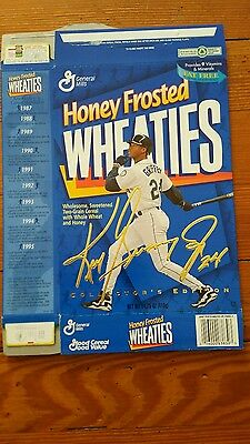 Seattle Hall Of Fame Ken Griffey Jr. 1997 General Mills Honey Frosted Wheaties