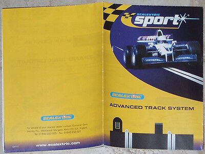 Scalextric / Track / Catalogue / Leaflet