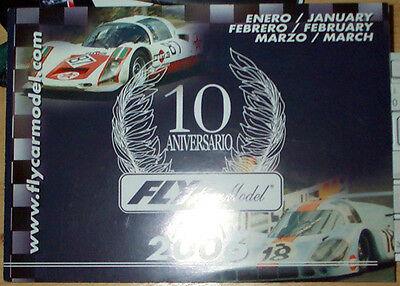 Scalextric type,  FLY 10th Anniversary Leaflet.