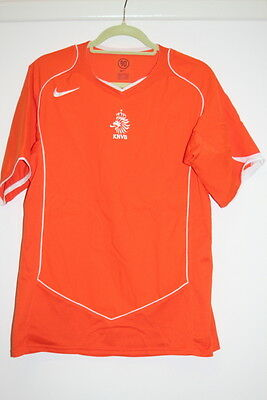Holland football shirt Netherlands KNVB Size M Vintage Home Kit 2004-2006