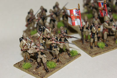 Perry Miniatures 28mm WW2 British Sudan Infantry  - Painted