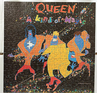 Queen - A Kind of Magic Jigsaw Puzzle - Album Cover Style.